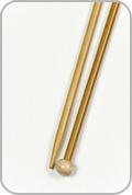 "Crystal Palace 12"" Single Pointed Needles - Size - US 7"