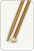 "Crystal Palace 12"" Single Pointed Needles - Size - US 10.5"