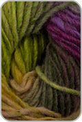 Noro Kureyon Yarn - Lime / Hot Pink / Orange (# 95)