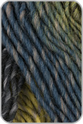Plymouth Gina Yarn - Moss/ Charcoal/ Teal/ Purple (# 06)