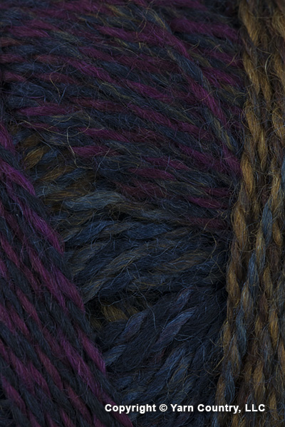 Schoppel Wolle Zauberball Crazy Yarn - Maroon/ Grays/ Rust (# 2248)