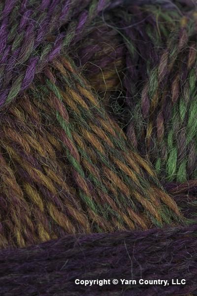 Schoppel Wolle Zauberball Crazy Yarn - Maroon/ Green/ Brown (#2312)