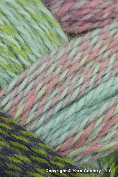 Schoppel Wolle Zauberball Crazy Yarn - Green/ Pink/ Mint (# 2170)