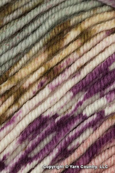 Schoppel Wolle Ambiente Yarn - Plum/ Brown/ Pink/ Grey (# 1862)