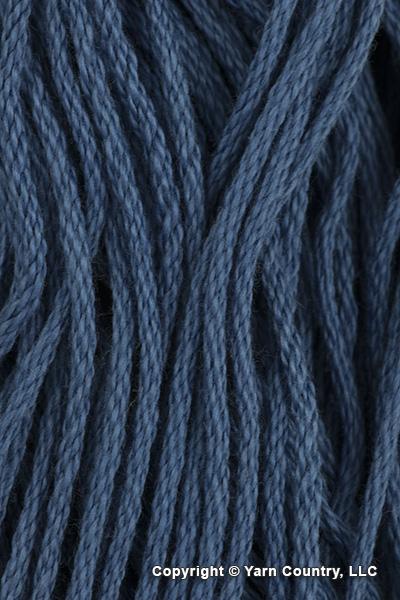 Tahki Yarns Cotton Classic Yarn - Dark Bright Blue (# 3870)