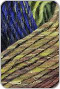 Noro Silk Garden Yarn - Green/ Rust/ Navy/ Gold (# 403)