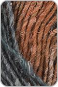 Noro Silk Garden Yarn - Black/ Pink/ Grey/ Orange (# 376)