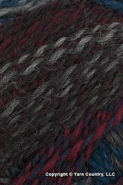 Schoppel Wolle Zauberball Crazy Yarn - Teal/ Red/ Brown (# 1507)