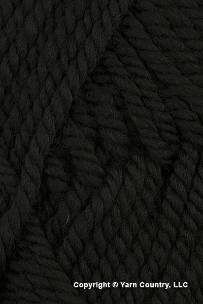 Ewe Ewe Wooly Worsted Yarn - Black Licorice (# 99)