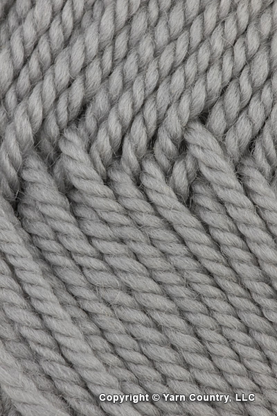 Wooly Worsted Yarn - Brushed Silver (# 97) | Ewe Ewe | YarnCountry com