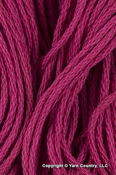 Tahki Yarns Cotton Classic Yarn - Dark Raspberry (#3465)