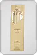 """Crystal Palace 7"""" Star Double Pointed Needles - Size - US 11"""