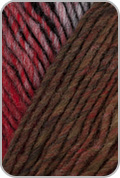 Noro Kureyon Yarn - Silver/ Black/ Red/ Brown (# 340)