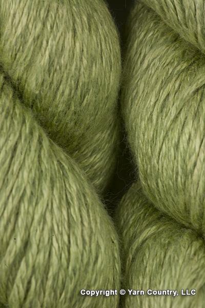Crystal Palace Panda Pearl Yarn - Bamboo Green (# 7005)