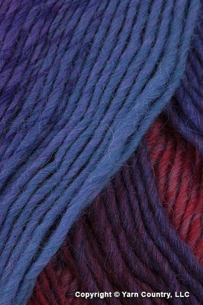 Plymouth Gina Yarn - Purple/ Blue/ Red (# 01)