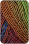 Plymouth Gina Yarn - Purple/ Teal/ Rust/ Lime (# 15)