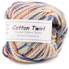 Cotton Twirl Print Yarn <em>by Crystal Palace