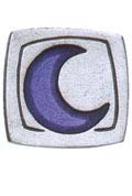 Danforth Danforth Buttons - Moon / Square Button
