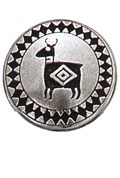 Danforth Danforth Buttons - Southwest Deer Button