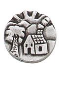 Danforth  - Cottage Button