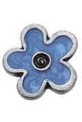 Danforth Danforth Buttons - Flower / Blue Button