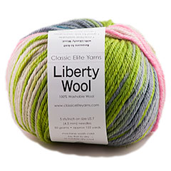 Liberty Wool Print Yarn  <em>by Classic Elite