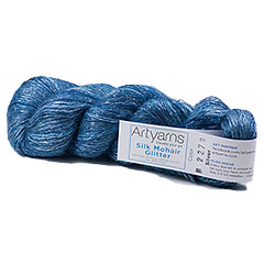 Silk Mohair Glitter Yarn <em>by Artyarns
